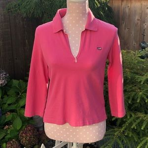Ralph Lauren Jean Co. Vintage Pink Polo Shirt